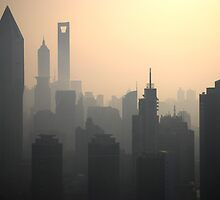Shanghai Morning by Jeff  Farris