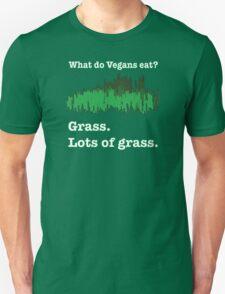 Vegans Eat Grass T-Shirt