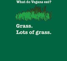 Vegans Eat Grass Unisex T-Shirt