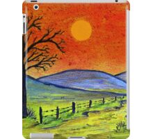 A tree somewhere in Africa iPad Case/Skin