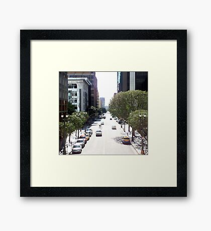 Downtown Los Angeles 0591 Framed Print
