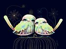 Little Love Birds by © Karin Taylor