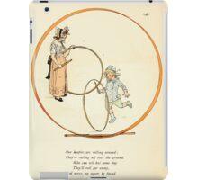 Rose Buds Virginia Gerson 1885 0018 Hoople iPad Case/Skin