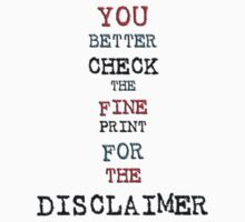 disclaimer by vampvamp