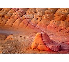 Two Tone Rock Photographic Print