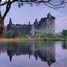 Kilchurn Castle , Loch Awe , Argyll by David Mould