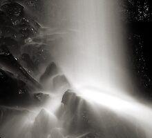 Hardraw Falls, Wensleydale, Yorkshire. by Miffy