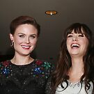 Emely and Zooey Deschanel by loyaltyphoto