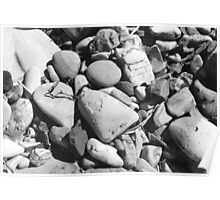 Pebbles,  Dudley Beach Poster