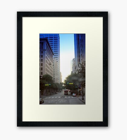 Downtown Los Angeles 0682 Framed Print