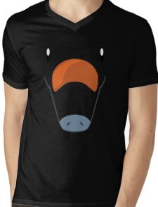 Pokemon - Phanpy / Gomazou Mens V-Neck T-Shirt