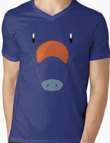 Pokemon - Phanpy / Gomazou Mens V-Neck T-Shirt
