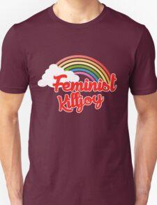 Feminist killjoy retro rainbow Unisex T-Shirt