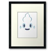 Pokemon - Vanillite / Vanipeti Framed Print
