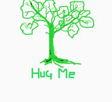 HUG ME   TREES Leaves Green T SHIRT Womens Fitted T-Shirt