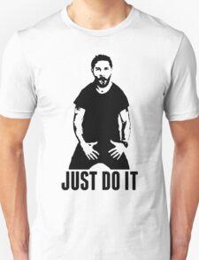 JUST DO IT - Shia LaBeouf Transparent T-Shirt