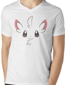 Pokemon - Minccino / Chillarmy Mens V-Neck T-Shirt