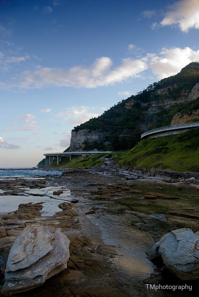 Bridge View - The Sea Cliff Bridge Australia by TMphotography