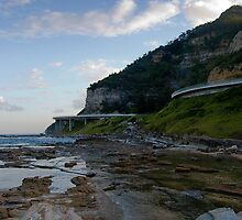 Bridge View - The Sea Cliff Bridge Australia by TMphotography