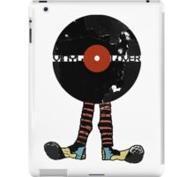 Funny Vinyl Records Lover - Grunge Vinyl Record Notebooks and more iPad Case/Skin