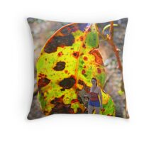 Its a jungle out there Throw Pillow