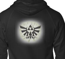 Zelda Triforce #2 Zipped Hoodie