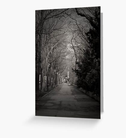 The Path - Austria Greeting Card