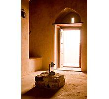 Lantern - Oman  Photographic Print