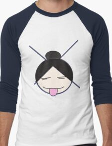 XO Girl (Plain) Men's Baseball ¾ T-Shirt