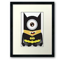 minion batman Framed Print