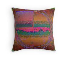 Squared Vision I Throw Pillow