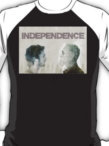 Never Go Back Independence  T-Shirt