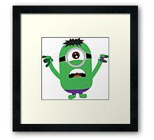 minion hulk Framed Print