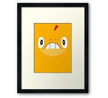 Pokemon - Scraggy / Zuruggu Framed Print