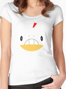 Pokemon - Scraggy / Zuruggu Women's Fitted Scoop T-Shirt