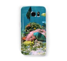 Colorful sea life in the Caribbean sea Samsung Galaxy Case/Skin