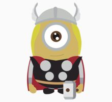 minion Thor by ClipBookLookArt