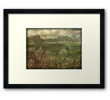 Flora and Fauna Dreamy Collage Framed Print