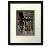 Dont Ever Turn Around Framed Print