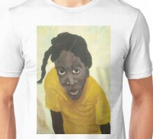 Jamaican school girl Unisex T-Shirt