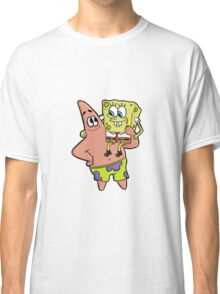 Spongebob and Patrick- The Best of Friends Classic T-Shirt