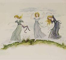 Kate Greenaway Collection 1905 0439 The Dancing of the Felspar Faries by wetdryvac