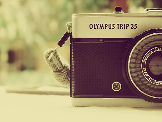 olympus trip 35.... by Dorothea Baker