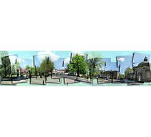Postcards from Harrogate Photographic Print