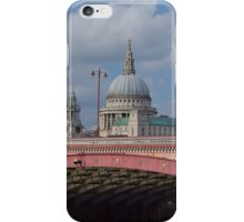 St Pauls Cathedral over Blackfriars Bridge - London iPhone Case/Skin
