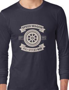 SPW - Speed Wagon Foundation [Cream] Long Sleeve T-Shirt