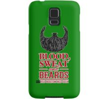 Blood, Sweat and Beards Samsung Galaxy Case/Skin