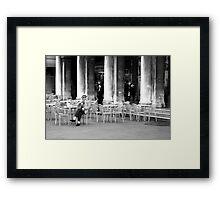 Venice - Café Florian. Framed Print