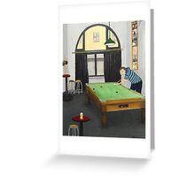 Pool At The Shannon  Greeting Card