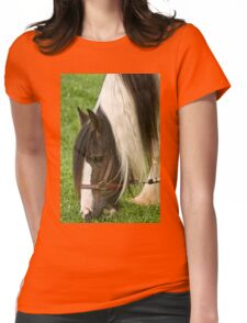Gypsy Vanner Horse Womens Fitted T-Shirt